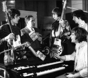 1960s Pink Floyd and Syd Barrett in the studio
