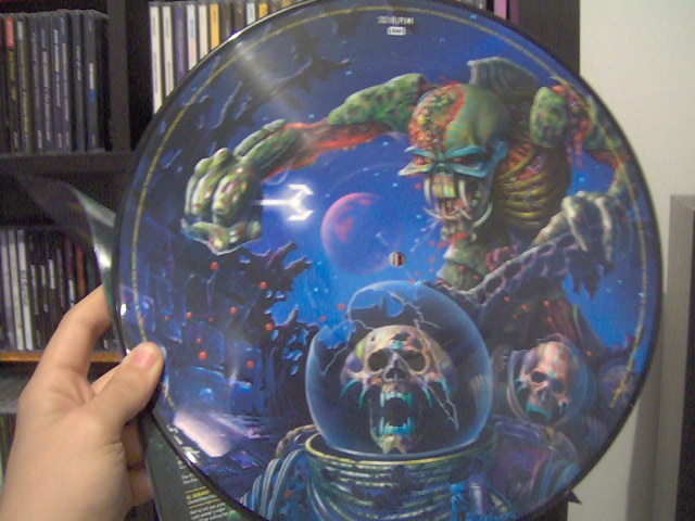 The Final Frontier Picture Disc 1