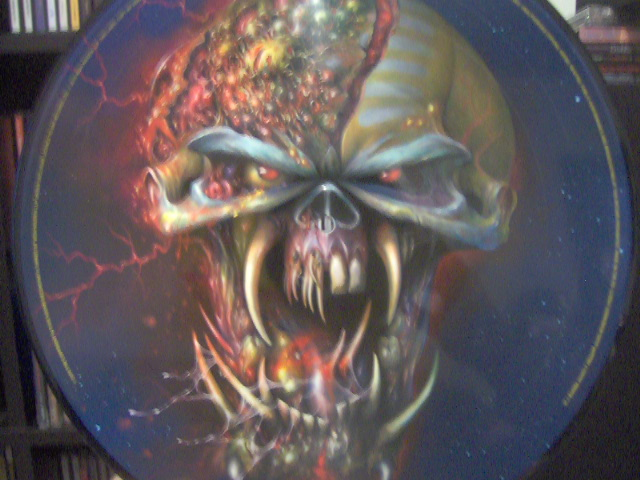 The Final Frontier Picture Disc 2