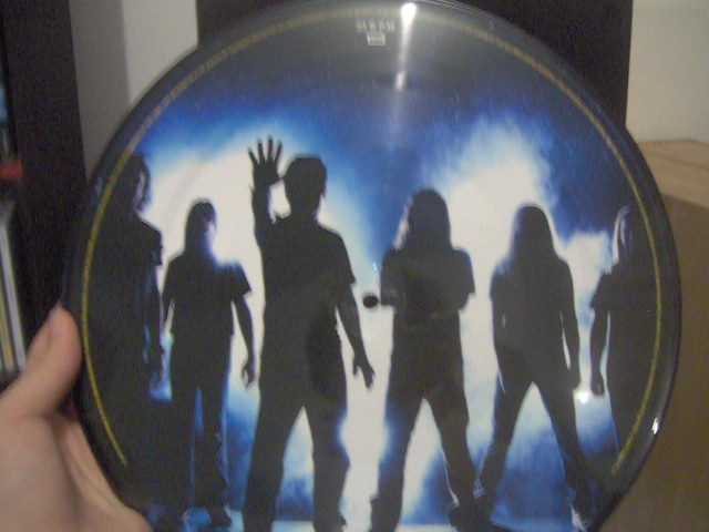 The Final Frontier Picture Disc 3