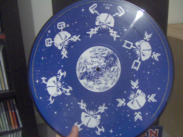 The Final Frontier Picture Disc 4