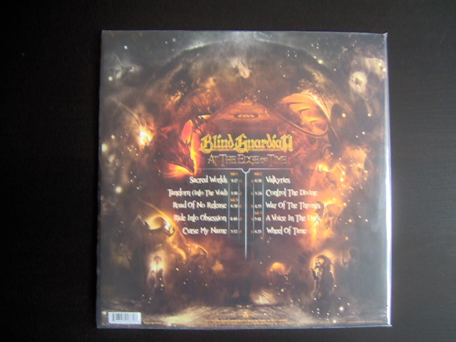 Picture disc vinyle At The Edge Of Time Blind Guardian-back