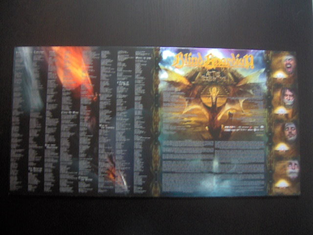Picture disc vinyle At The Edge Of Time Blind Guardian-gatefold