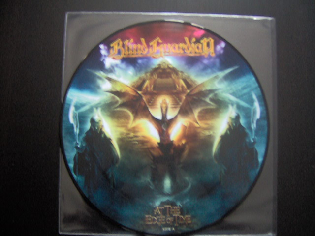 Picture disc vinyle At The Edge Of Time Blind Guardian-faceA