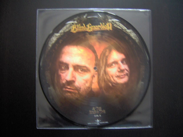 Picture disc vinyle At The Edge Of Time Blind Guardian-faceB
