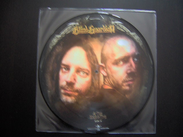 Picture disc vinyle At The Edge Of Time Blind Guardian-faceD
