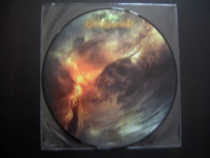 Picture disc vinyle At The Edge Of Time Blind Guardian-faceC