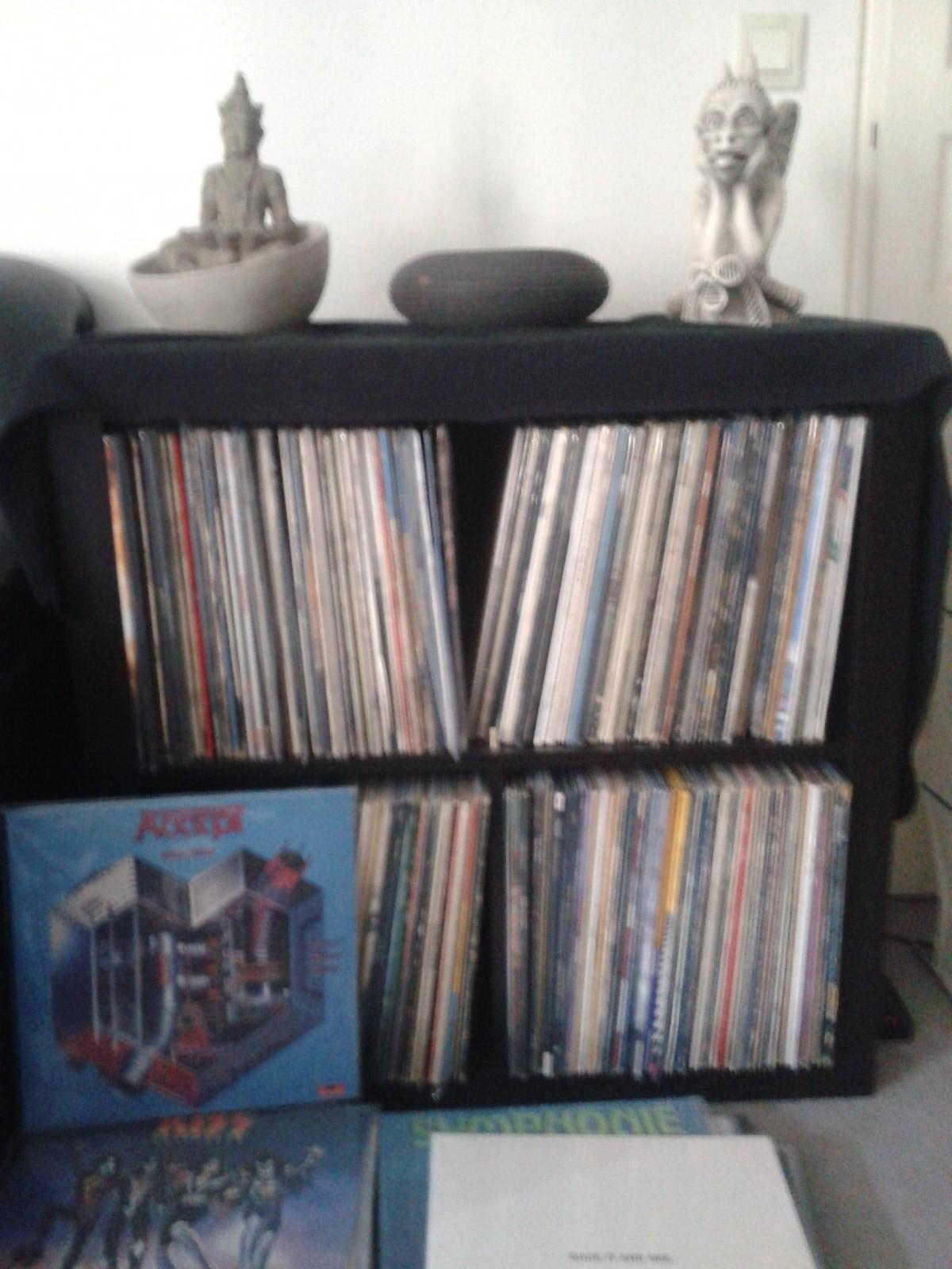 Expedit pour ranger ses vinyles