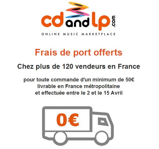 frais de port offerts sur cdandlp vinyle actu