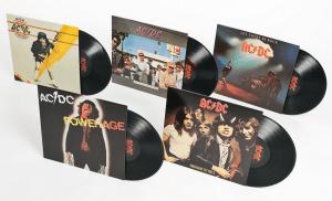 lot de vinyles AC DC