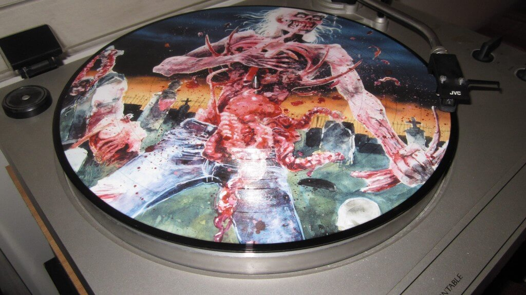 picture disc eaten back to life Cannibal Corpse 2013