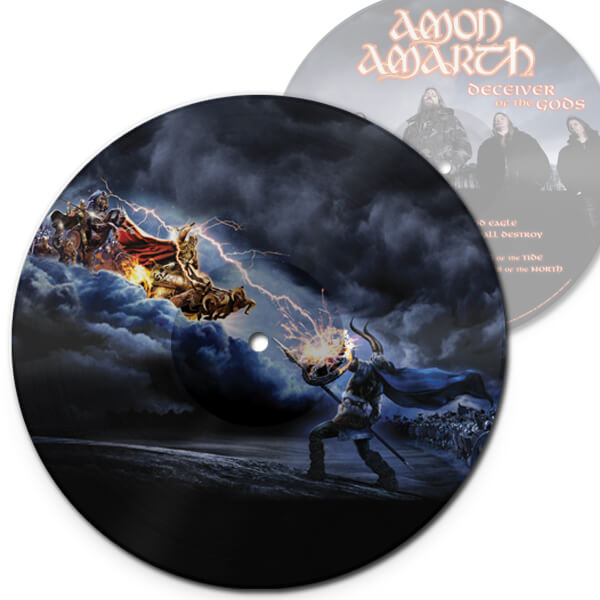 deceiver of the Gods picture disc