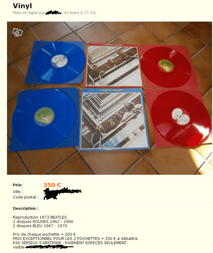 Aujourd Hui J Ai Trouv 233 Un Sgt Pepper 224 2 Euro Vinyle Actu