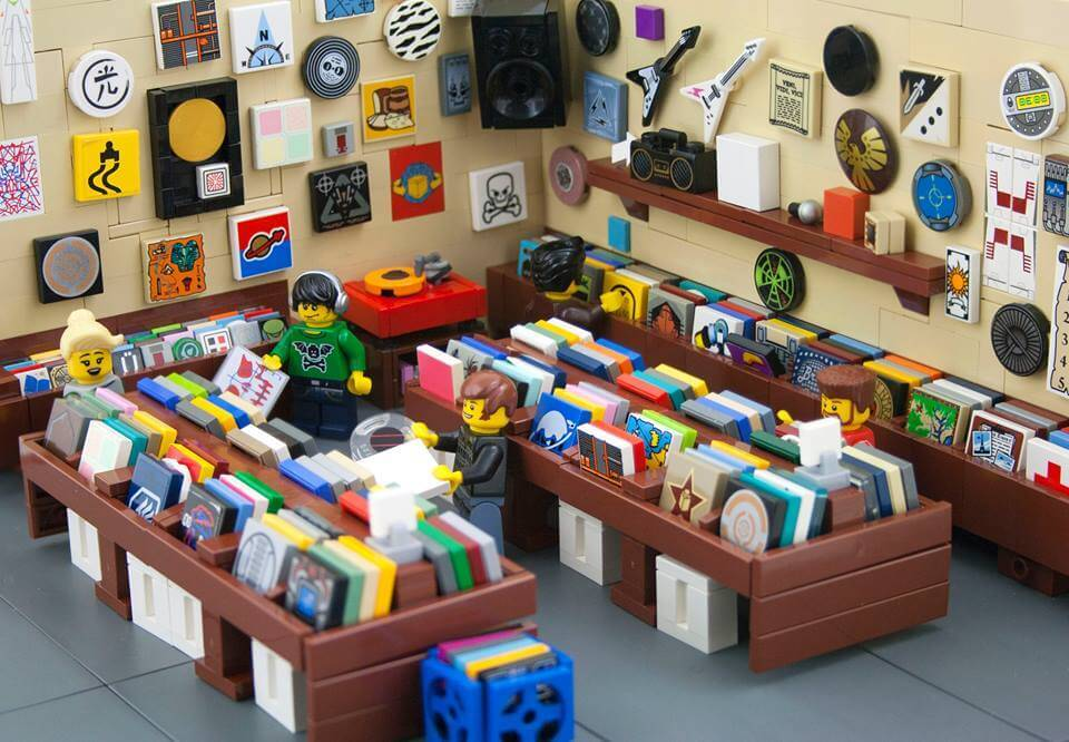 lego aussi a ses magasins de vinyles vinyle actu. Black Bedroom Furniture Sets. Home Design Ideas