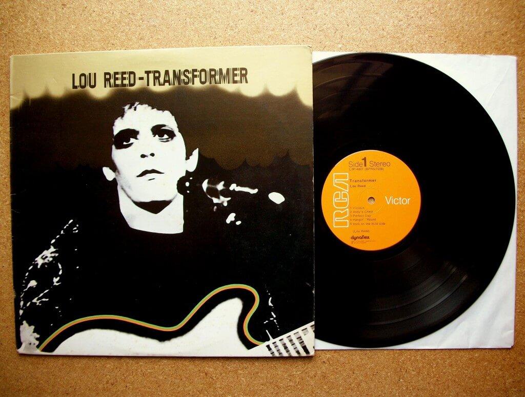 Vinyle de Transformer de Lou Reed