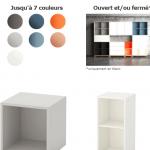 EKET : La nouvelle étagère Ikea est faite pour vos vinyles !