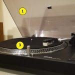 Comment est construite une platine vinyle ?