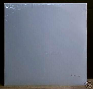Un autre album blanc des Beatles. Prix de vente 2000€