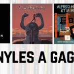 Jeu concours : 3 vinyles à gagner avec Vinyle Actu et Milan Music !