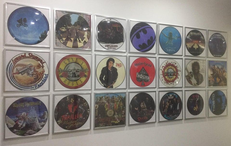 collection de picture discs