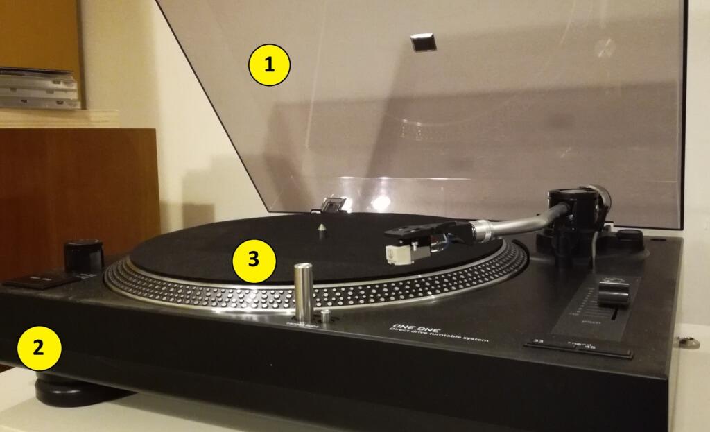 comment est construite une platine vinyle vinyle actu. Black Bedroom Furniture Sets. Home Design Ideas
